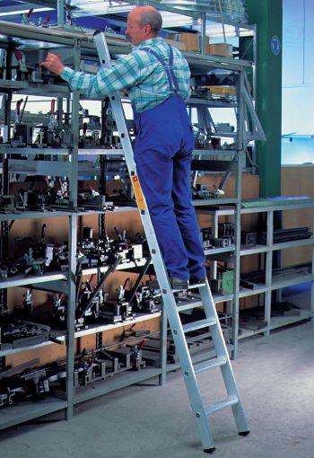 Aluminium-Regalleiter, einhängbar, 6 Stufen
