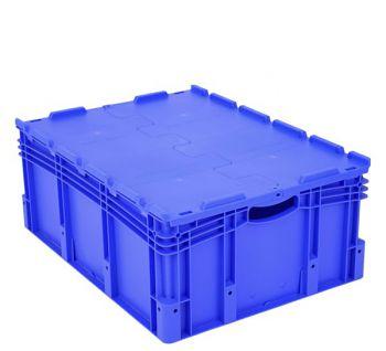 Euro-Stapelbehälter mit Doppelboden BxLxH 800 x 600 x 320 mm