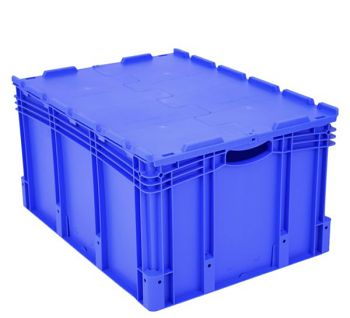 Euro-Stapelbehälter mit Standard- boden BxLxH 800 x 600 x 420 mm