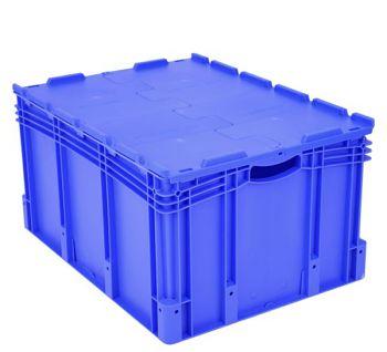 Euro-Stapelbehälter mit Doppelboden BxLxH 800 x 600 x 420 mm
