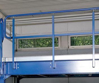 Geländer für Modulbühne