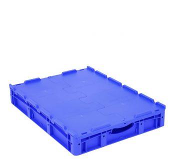 Euro-Stapelbehälter mit Doppelboden BxLxH 800 x 600 x 120 mm