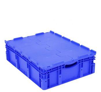 Euro-Stapelbehälter mit Doppelboden BxLxH 800 x 600 x 220 mm
