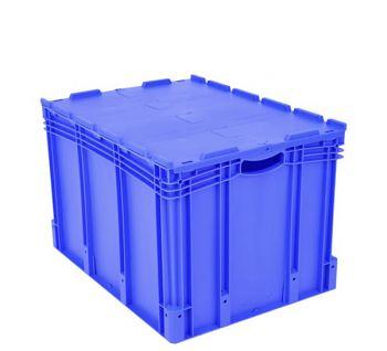 Euro-Stapelbehälter mit Doppelboden BxLxH 800 x 600 x 520 mm