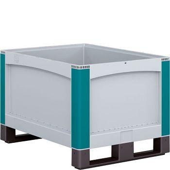 Schwerlastbehälter geschlossene Wände ohne Deckel LxBxH 800 x 600 x 520 mm