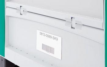 Etikettenhalter 240 x 80 mm