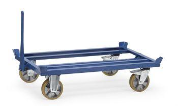 Palettenfahrgestell als Routenzug Tragkr. 1000 kg, Ladef. 1210 x 810 mm
