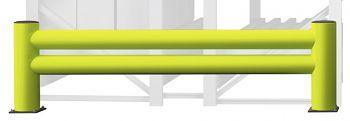 Regalendschutz Doppelplanke Länge 2,40 m