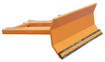 Schneeschieber lack. orange RAL 2000 Schildbreite: 1500 mm