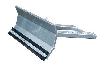 Schneeschieber verzinkt Schildbreite: 1500 mm