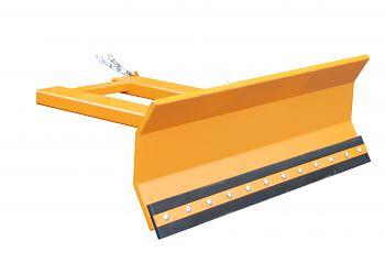 Schneeschieber lack. orange RAL 2000 Schildbreite: 1800 mm