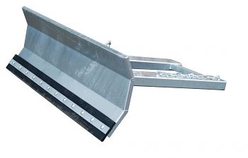 Schneeschieber verzinkt Schildbreite: 1800 mm