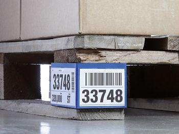 Palettenfußbanderole BxH:140 x 65/90 x 65 mm, 1VE=50 Stck.