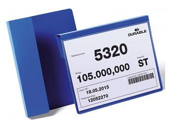 Kennzeichnungstasche mit Falz BxH:210x148 mm(A5 quer) 1 VE=50 Stck.