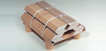 Flächenkantenschutz aus Kraft- papier, 35 x 35 x 3,0 mm
