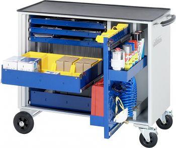 Werkzeugwagen mit Metall-Top BxTxH 1000x520x890mm mit