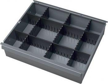 Einteilungsset f. Rollwerkbank für Schublade 65mm
