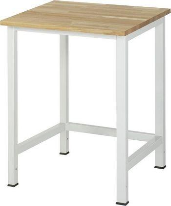 Werktisch mit Buche-Platte B x T x H 750 x 800 x 825 mm
