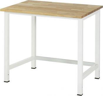 Werktisch mit Buche-Platte B x T x H 1000 x 800 x 825 mm
