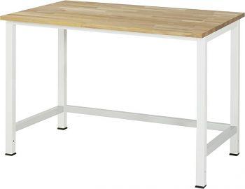 Werktisch mit Buche-Platte B x T x H 1250 x 800 x 825 mm