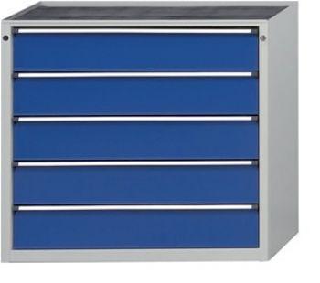 Schubladenschrank 1060 x 675 x 980 mm 5 Schubladen 180 mm FH