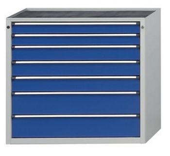 Schubladenschrank 1060 x 675 x 980 mm 7 Schubladen 2x90, 3x120, 2x180 mm FH