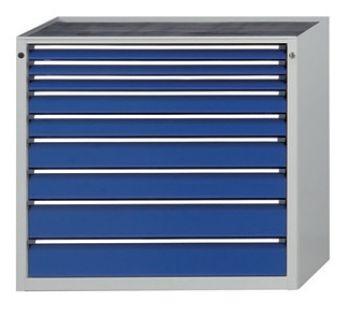 Schubladenschrank 1060 x 675 x 980 mm 9 Schubladen 3x60,2x90,2x120,2x150mmH