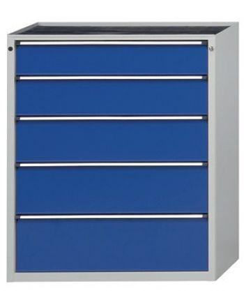 Schubladenschrank 1060 x 675 x 1280mm 5 Schubladen 1x180,210,240,270,300 mm
