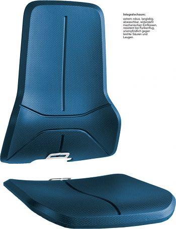 Polstergarnitur Neon aus Integralschaum blau