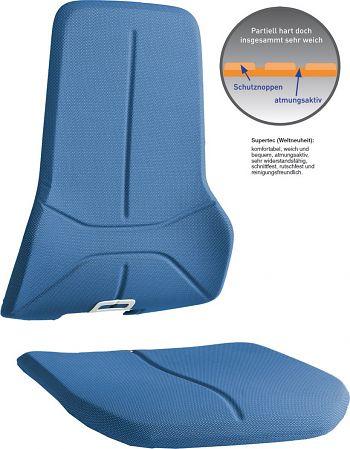 Polstergarnitur Neon aus Supertec blau