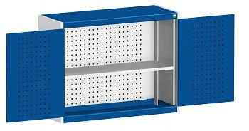 Perfo-Hängeschrank mit Lochplatte BxTxH 1050 x 325 x 700 mm