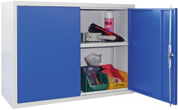 Wandschrank mit Vollblech-Türen HxBxT 600 x 800 x 300 mm