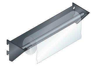 Papierrollenhalter für Loch-Seiten- wand Ø x L 110 x 360 mm