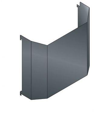 Abfallbehälter für Loch-Seitenwand Inh. 14 Liter