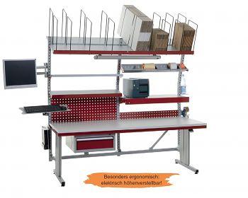 Komplettpackplatz Variante 3 B x T x H 2000 x 800 x 790-1150 mm