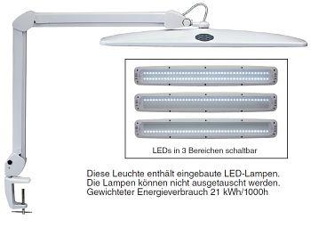 LED-Tischleuchte dimmbar 3-Bereichs-Schalter