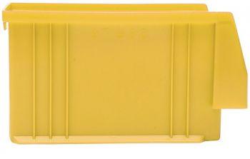 Sichtlagerkästen PLK 4 SP, gelb PP L 164/150 x B 105 x H 75 mm