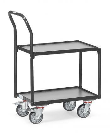 Eurokasten-Roller Tragkr. 250 kg Ladefläche LxB: 605 x 405 mm