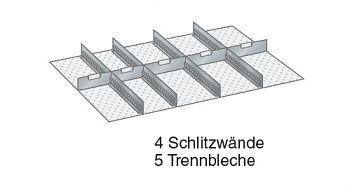 Einteilungsmaterial für Fronthöhe 200 mm