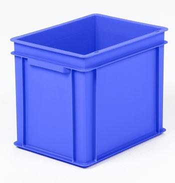 Mehrwegbehälter, 400x300x320mm blau Boden-u.Seiten geschlossen
