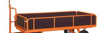4 Bordwände für Ladefläche 2000 x 1000 mm