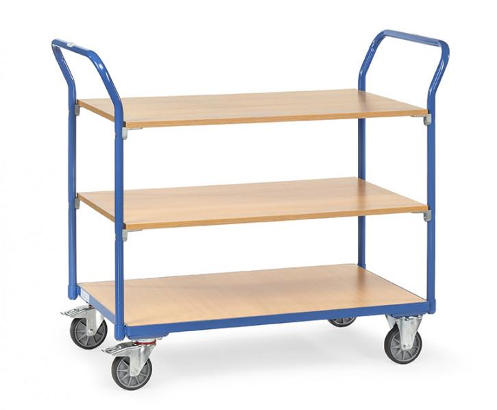 Tischwagen, 3 Etagen LxBxH 1030x500x1010mm