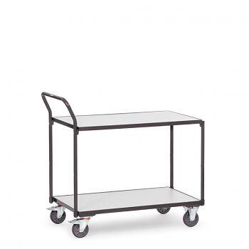 ESD-Tischwagen 850x500mm mit 2 Böden