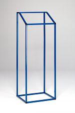 Wertstoffsammler MSTS 100 stationär,enzianblau