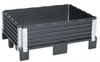 Aufsatzrahmen 600x800x200mm mit 4 verz. Scharnieren