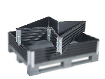 Aufsatzrahmen 800x1200x200mm mit 6 verz.Scharnieren,