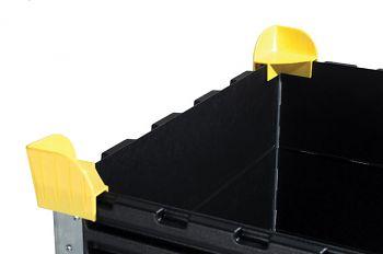 Stapelecken für Aufsatzrahmen passend für jede Größe 1VE=4 Stck.