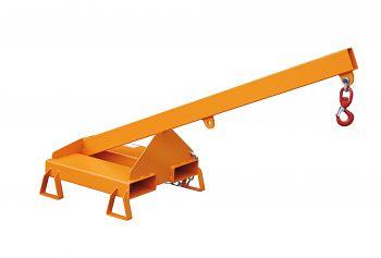 Lastarm starre Ausführung/Neigung 25° Tragkr. 300 - 1000 kg,orange RAL 2000