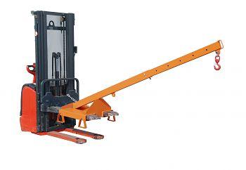 Lastarm teleskopierbar, Neigung 25° Tragkr. 125 - 1000 kg,orange RAL 2000