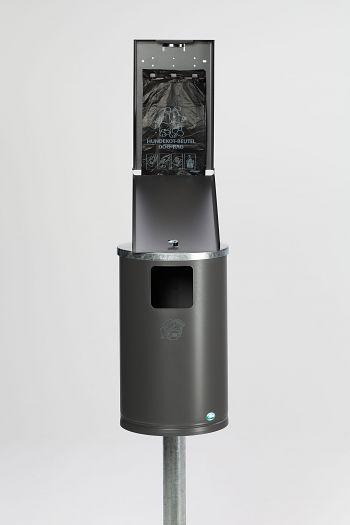 Hundetoilette Typ DS 1 eisenglimmer ähnl.DB 703 beschichtet
